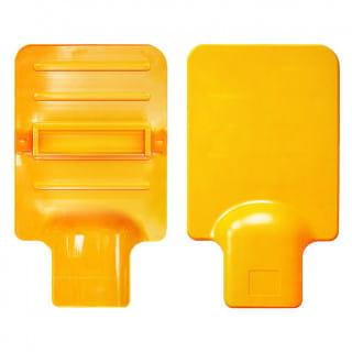 Досочка из термостойкого пластика с подхватом для руки